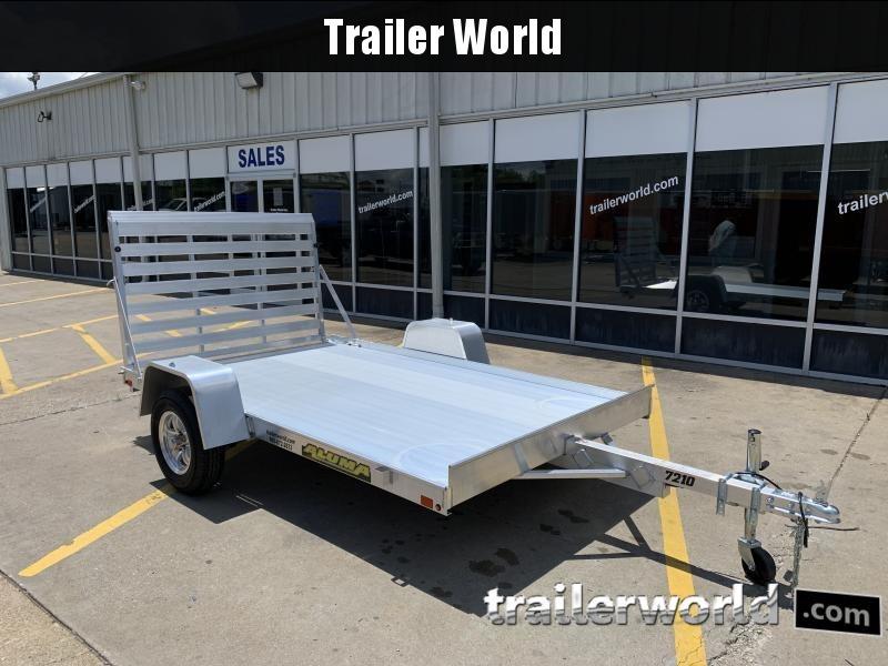 2022 Aluma 7210S-TG Aluminum 10' Utility Trailer