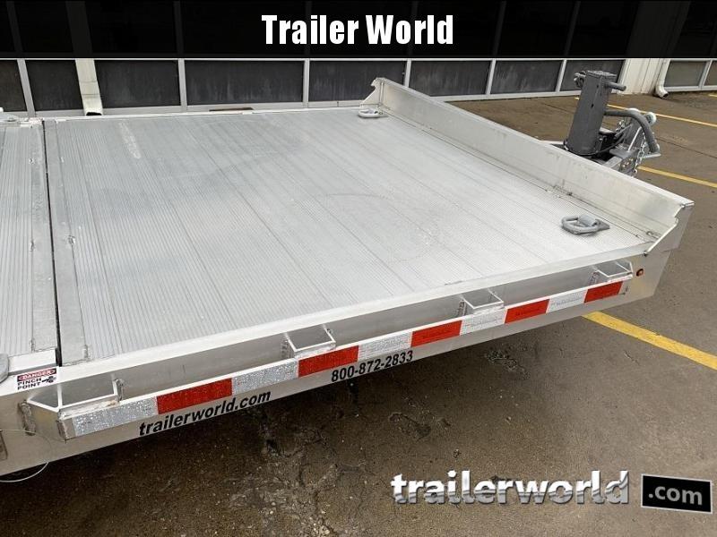 2021 Aluma 8220- 20'  16' + 4' Tilt bed  Equipment Trailer 14k