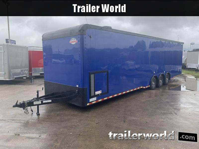 2020 Cargo Mate 34' Eliminator Black-Out Race Trailer