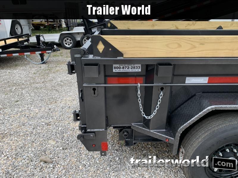 2021 Diamond C LPD 14' Dump Trailer Low Profile Commercial Grade