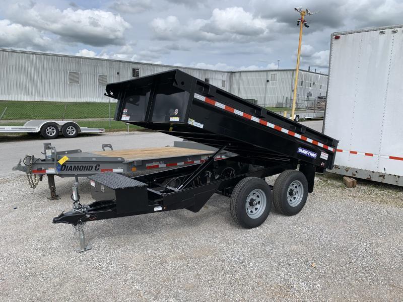 2021 Sure-Trac 6 X 10 SD Deckover Dump Trailer 10K
