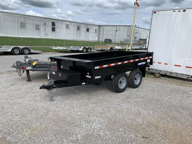 2021 Sure-Trac 6 X 10 SD Deckover Dump Trailer 10K