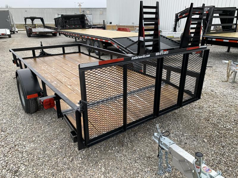2018 P and T Trailers 6x14AFG Utility Trailer