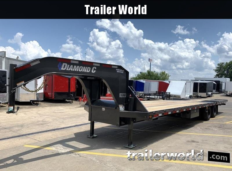 2020 Diamond C FMAX212 35' Hydraulic Dovetail Gooseneck Trailer 25900GVWR