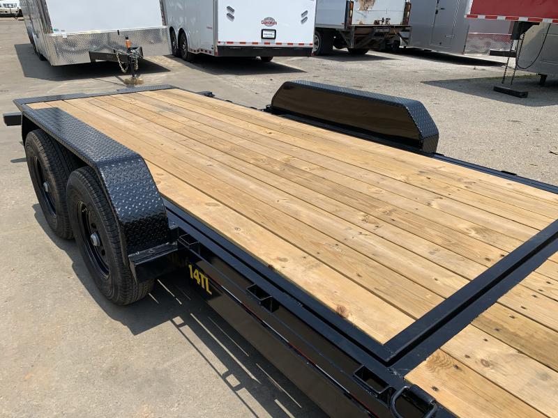 2021 Big Tex Trailers 14TL-20' BK Equipment Trailer