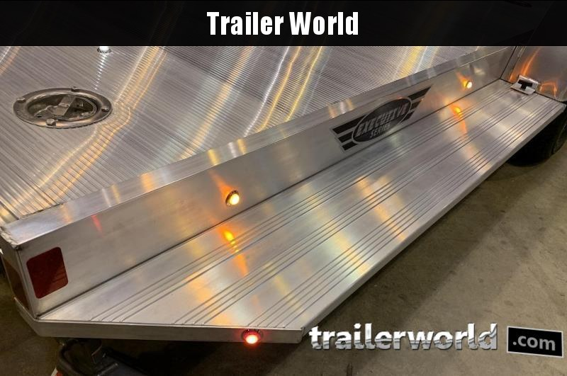 2022 Aluma Executive Series 8222H XL 22 Aluminum Open Car Trailer