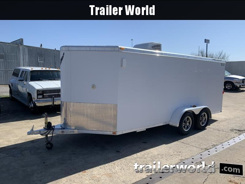 2006 Featherlite 16' Enclosed Cargo Trailer