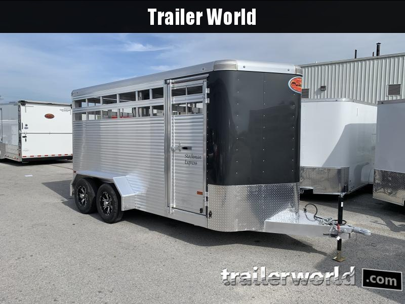 2022 Sundowner Trailers 7' Tall Stockman Express Livestock Trailer