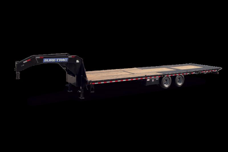 2021 Sure-Trac 8.5 x 25+10 Heavy Duty Low Profile Goose