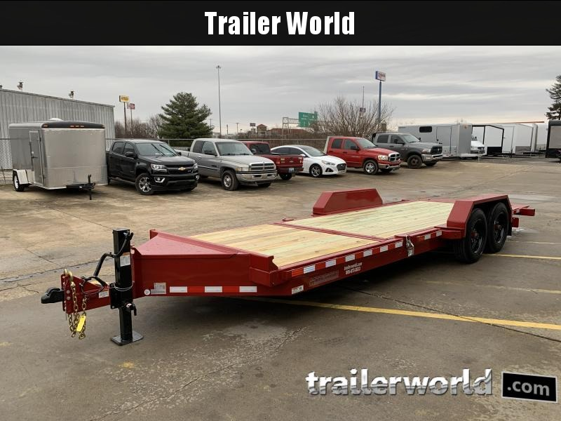 2021 Midsota TB-22' Tilt Bed Equipment Trailer 17.6k GVWR