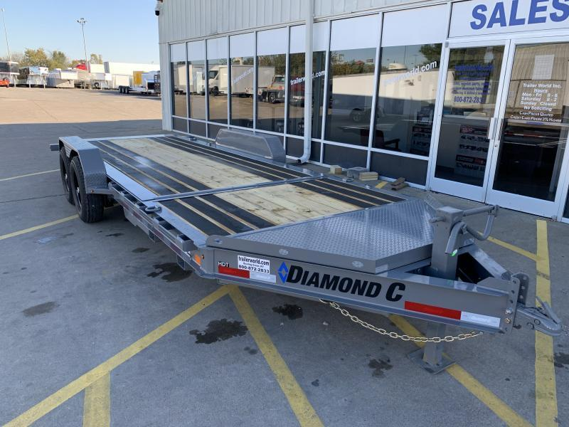 2021 Diamond C HDT 20' Tilt-Bed Equipment Trailer 7 Ton