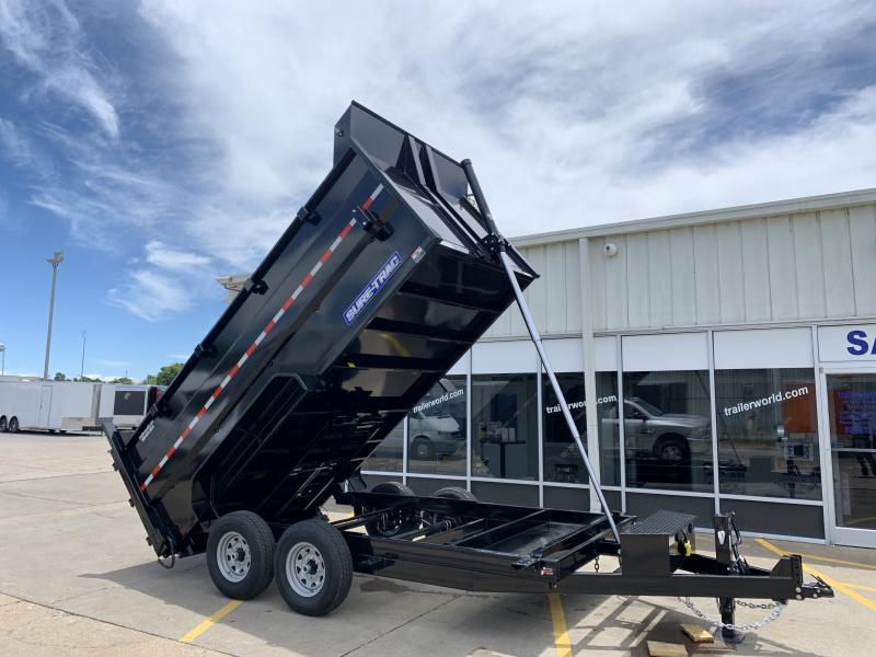 2020 Sure-Trac 14' Telescopic Dump 4' Sides Trailer 14K GVWR Telescopic