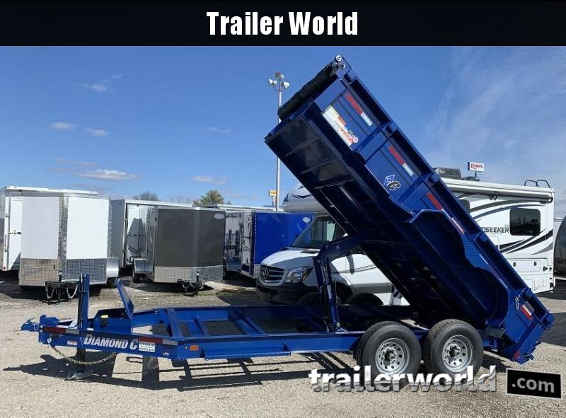 2020 Diamond C LPD 14' Commercial Grade Low Profile Dump Trailer