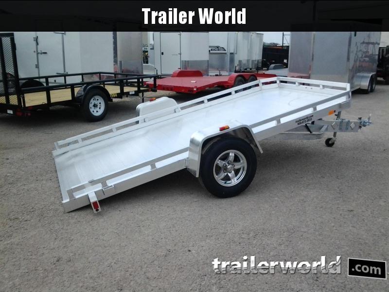 2022 Aluma 7712H 12 Tilt Aluminum Utility Trailer