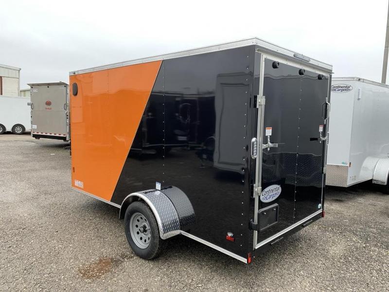 2021 Continental Cargo 6 x 12 x 6.3 Trailer w Ramp Door