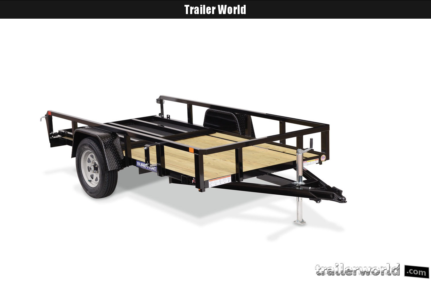 2020 Sure-Trac 5 X 10 Tube Top Utility Trailer