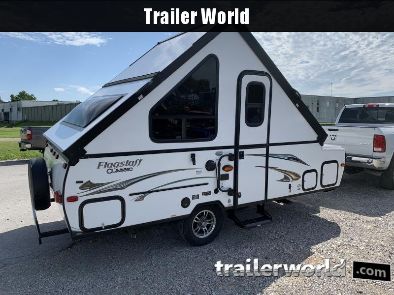 2015 Forest River Flagstaff Classic T12DDST Expandable Camper Trailer RV