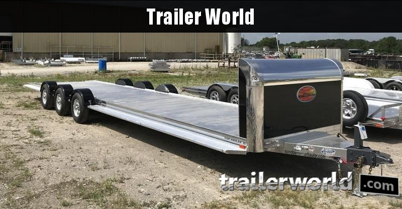 2021 Sundowner 35' Open Aluminum 2 Car Hauler Trailer