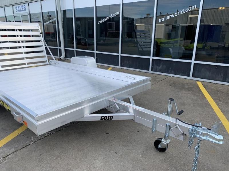 2021 Aluma 6810 10' Aluminum Utility Trailer