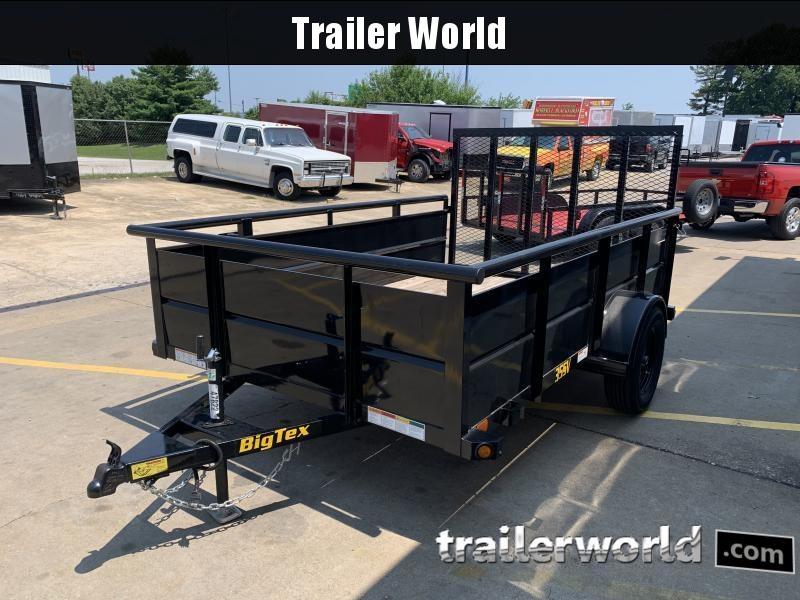 2021 Big Tex Trailers 35SV 10' Utility Trailer
