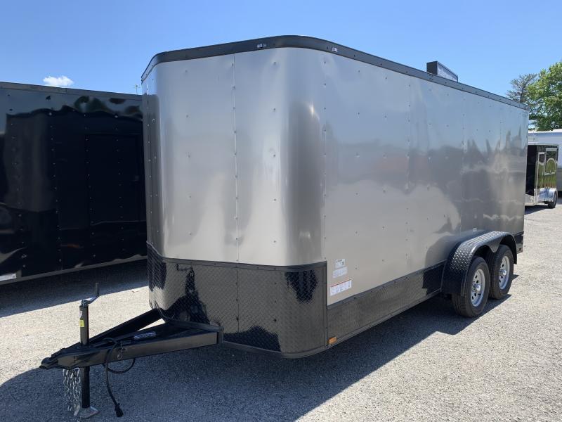 2021 25896 7 x 16'TA Enclosed Cargo Trailer