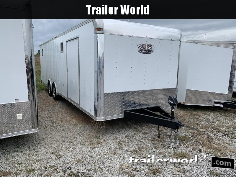 2014 Vintage Trailers Outlaw Car / Racing Trailer