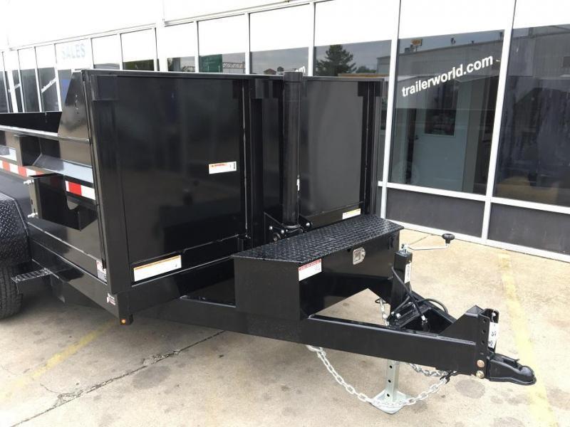 2022 Sure-Trac  12' Telescopic Dump Trailer 14k GVWR