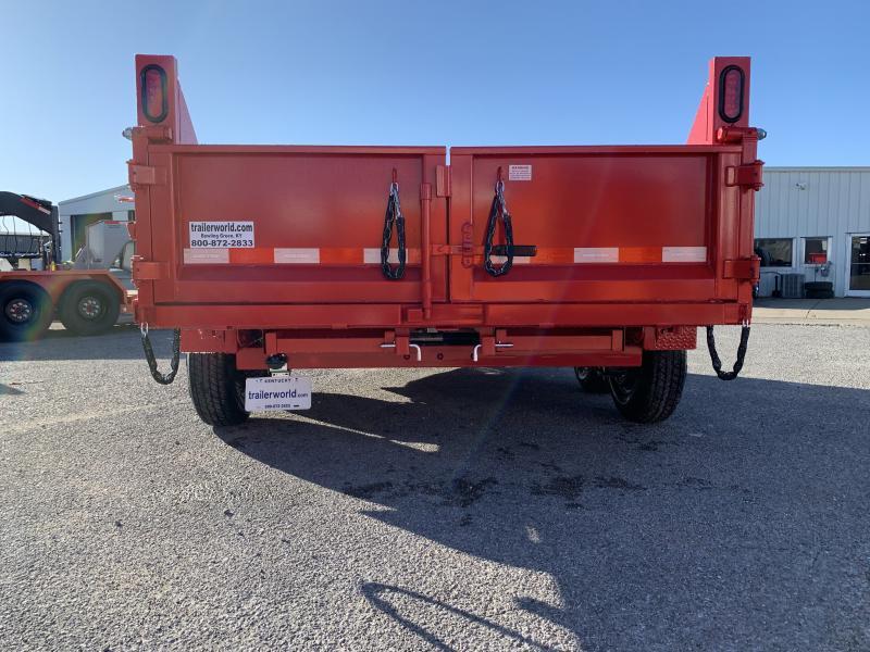 2021 Sure-Trac 6 x 12 SD Low Profile Single Ram Dump Trailer  10K
