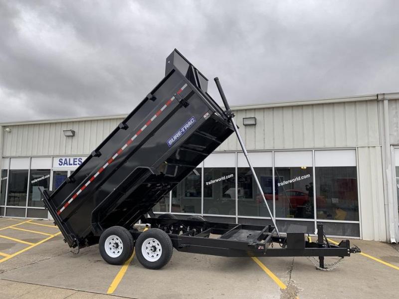2021 Sure-Trac 14' Telescopic Dump w/ 4' Sides 14k GVWR
