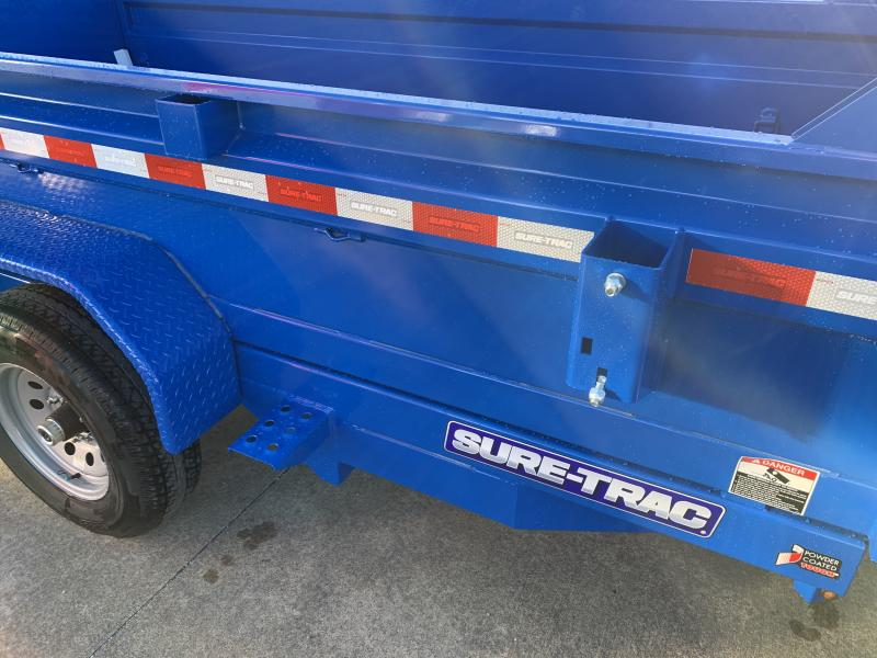 2021 Sure-Trac 6 x 12 SD Low Profile Single Ram Dump Trailer  10K