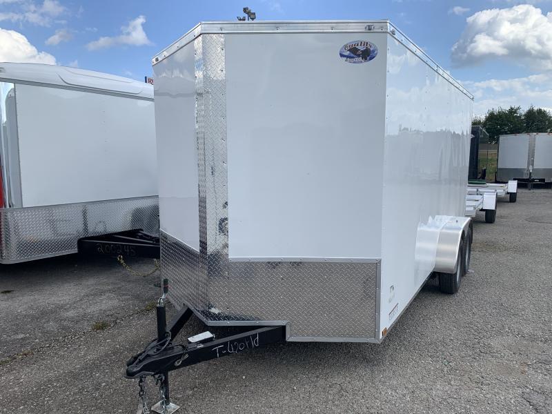 2022 30226 7 x 16'TA Enclosed Cargo Trailer
