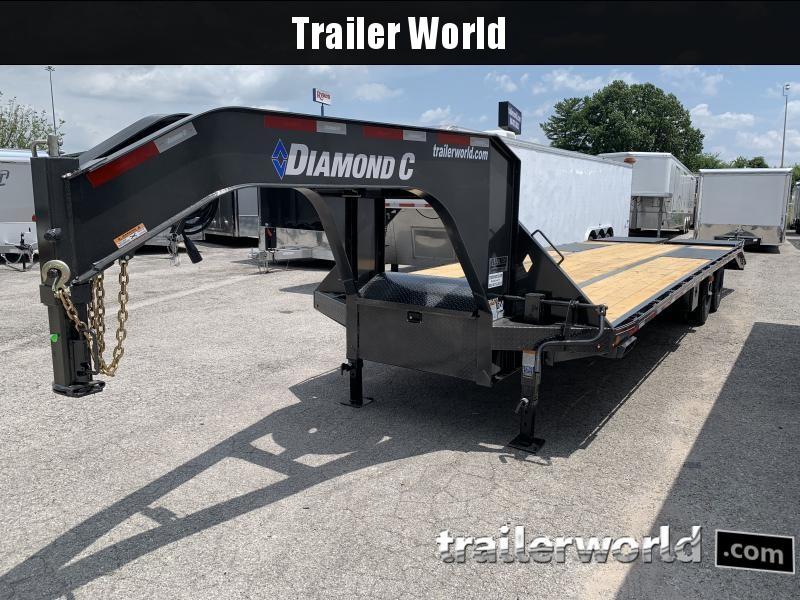 2020 Diamond C Trailers FMAX212 30X102 Flatbed Trailer