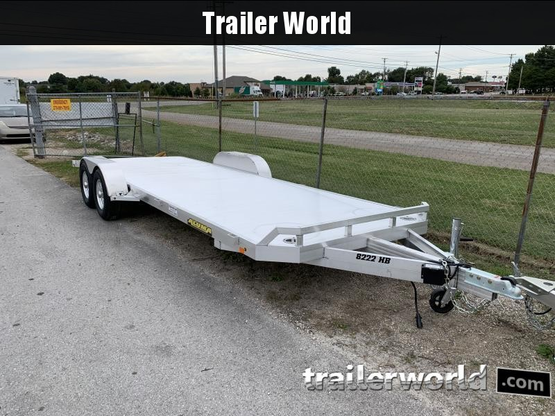 2022 Aluma 8222H Aluminum Open Flatbed Trailer