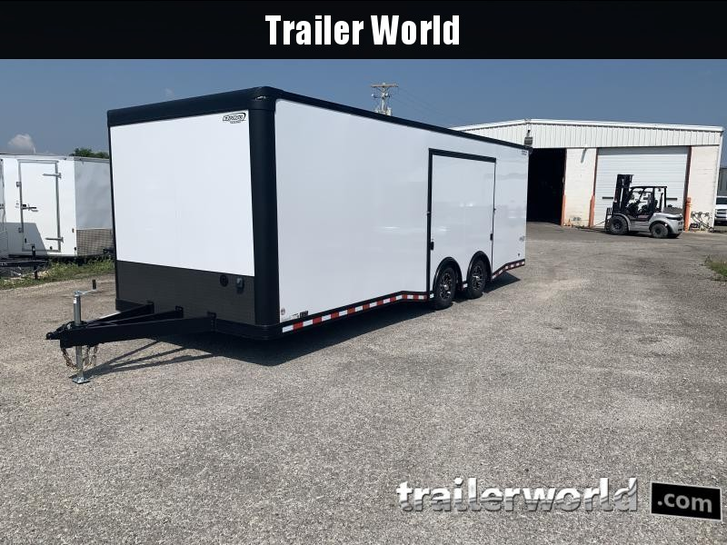 2020 Bravo Star 24' Enclosed Car Trailer w Full Access Door