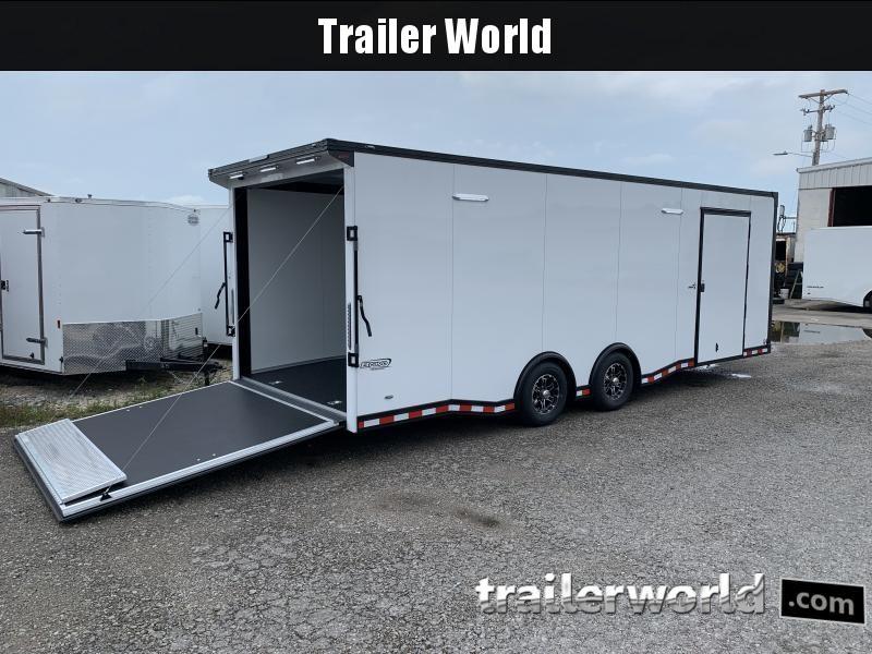 2020 Bravo Star 24' Enclosed Car Trailer w Full Access Door