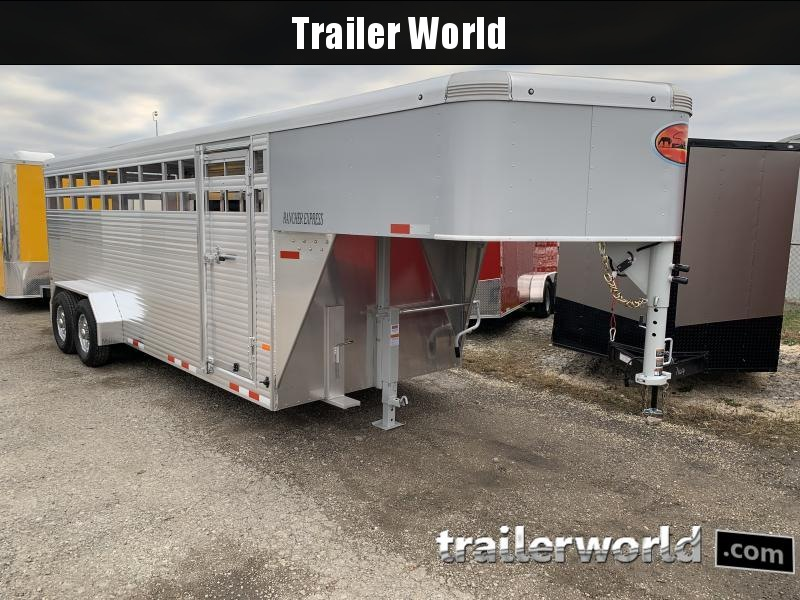2021 Sundowner Rancher Xpress 20' Livestock Trailer