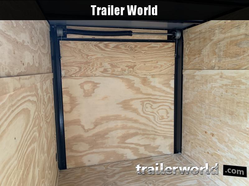 2021 Lark 6' x 10' Vnose Ramp Door Trailer