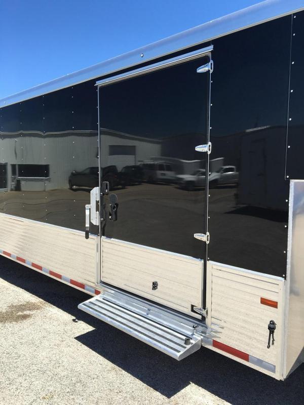 2021 Sundowner Trailers 48' Aluminum Enclosed 2 Car Trailer