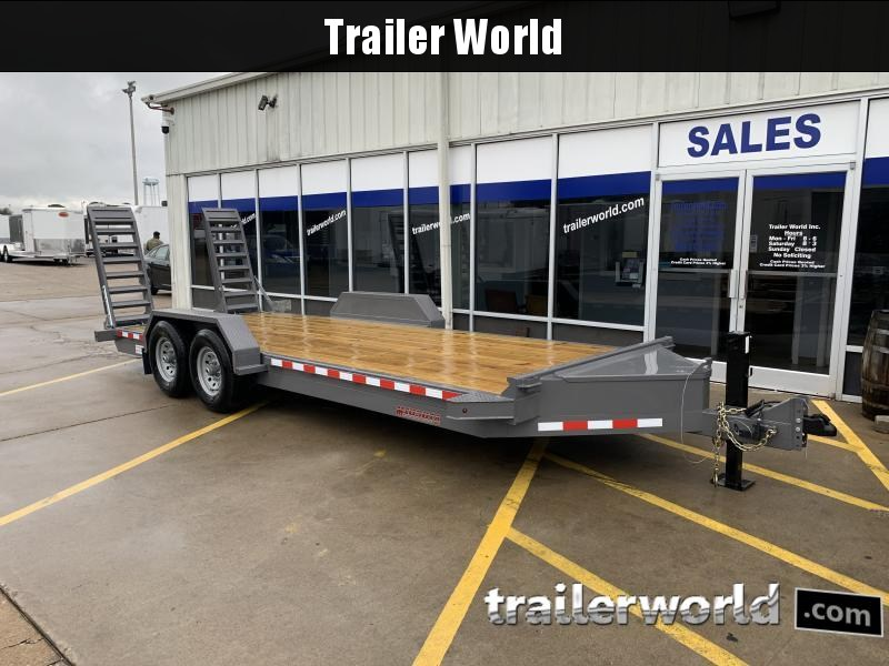 2022 Midsota ST-20 Equipment Skid Steer Trailer 15400lb GVWR