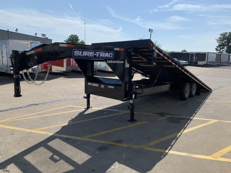 2020 Sure-Trac 102x24 Deckover Tilt Tandem GN 17.6K