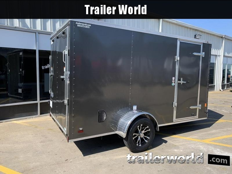 2020 Continental Cargo 6 x 12 x 6.3 Trailer w Ramp Door