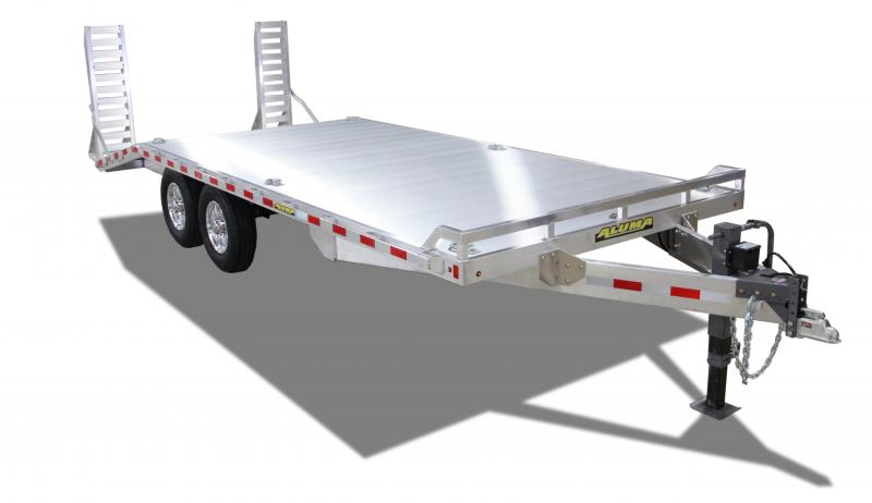 2021 Aluma 1024-14K Aluminum Deck Over Equipment Trailer