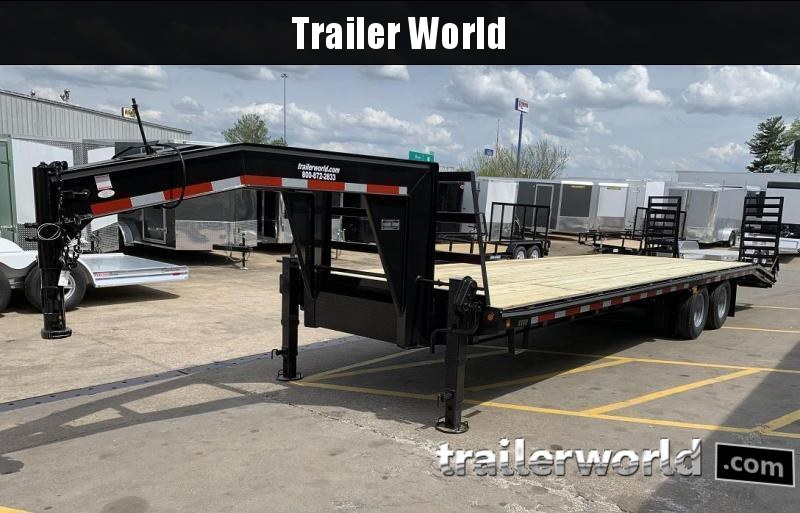 2020 Better Built 25' + 5'  10 Ton Gooseneck Flatbed Trailer