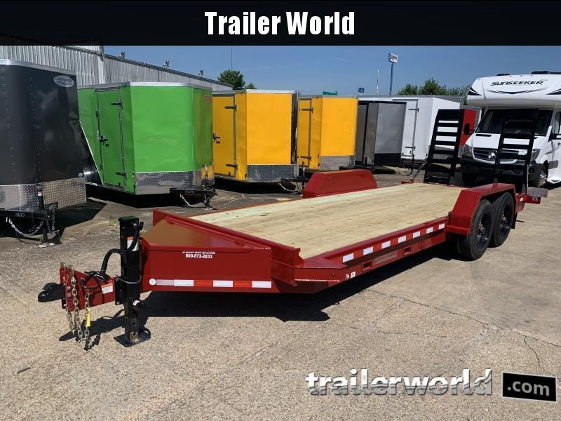 2021 Midsota ST-20 Equipment Skid Steer Trailer 15400lb GVWR