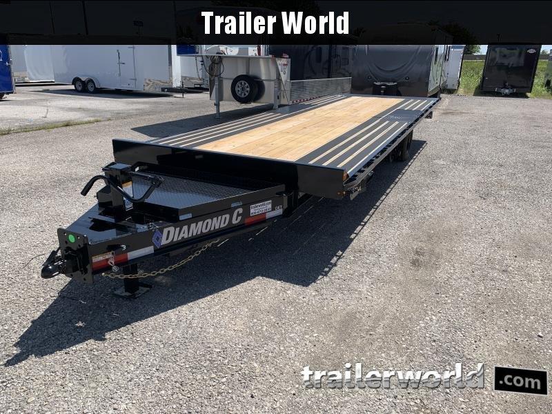 2020 Diamond C Trailers DET 24' x 102 Power Tilt Equipment Trailer