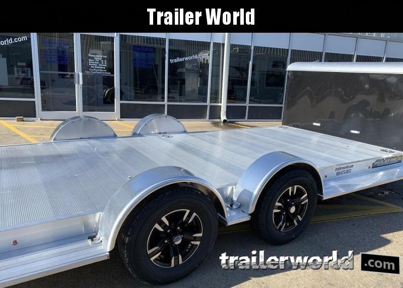 2022 Aluma Executive Series 8218-XL 18' Aluminum Open Car Trailer