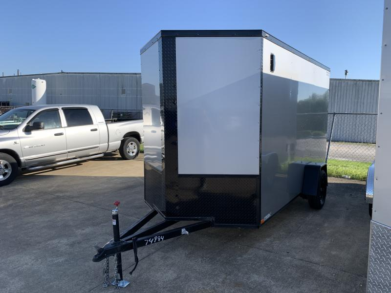 2021 74984 6' X 12' X 7' Enclosed Cargo Trailer