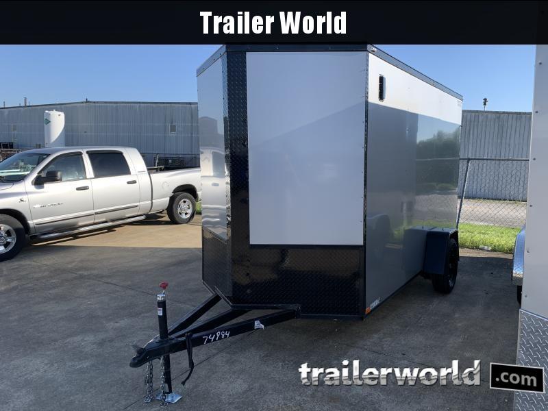 2021 74984 6' X 12' X 7' Enclosed Cargo Trailer