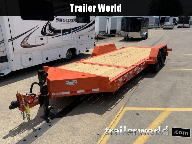 2021 Midsota TB-20' Split Deck Tilt Equipment Trailer