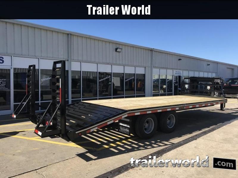 2020 Better Built Gooseneck Flatbed 25' Equipment Trailer 10 Ton